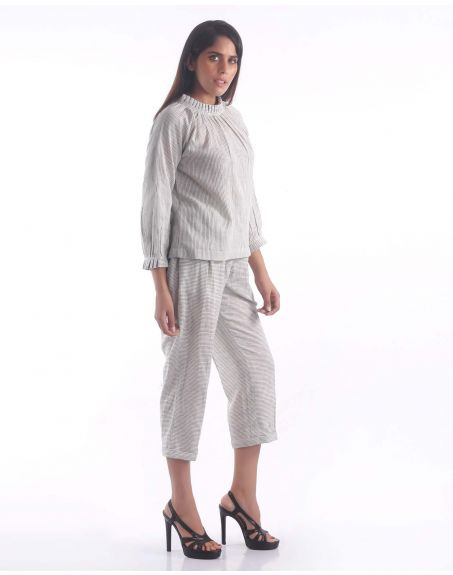 3X9T Sustainable Kala Cotton Stripe Pants