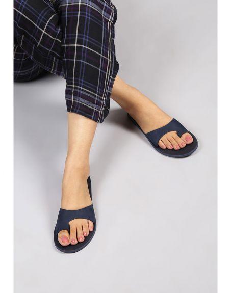 SEVDAH Navee Navy Blue Sandal
