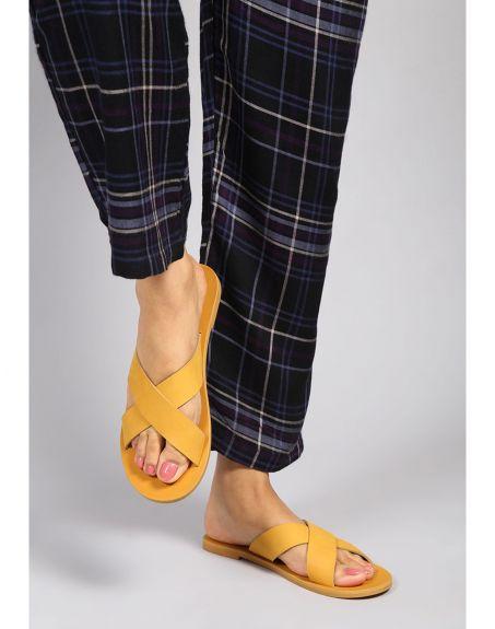SEVDAH Shibui Mustard Sandal
