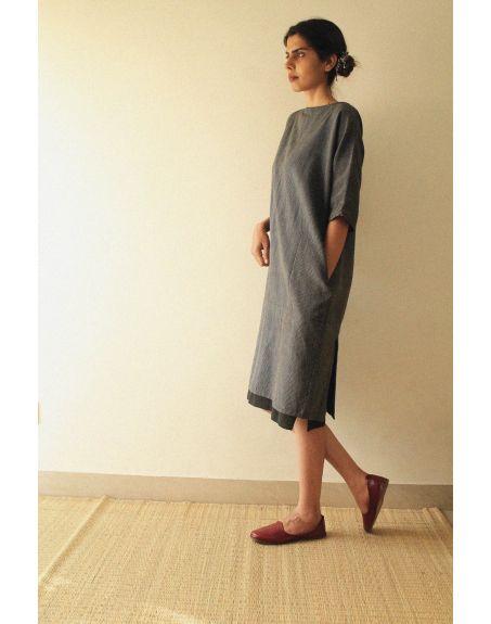 KILCHU INDIA Blazer Slit Detail Dress