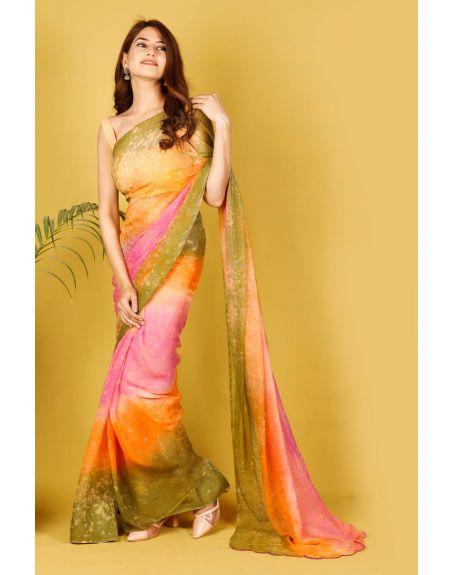 KALI CLOTHINGS CO. Larkspur Saree