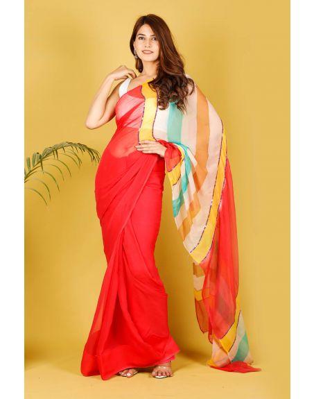 KALI CLOTHINGS CO. Nargis Saree