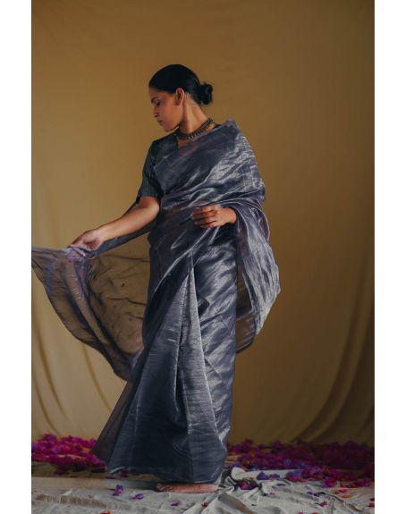 DEETA Sitarah Handwoven Zari Silk Sari