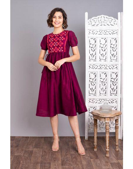 UNTUNG Sangria Dress