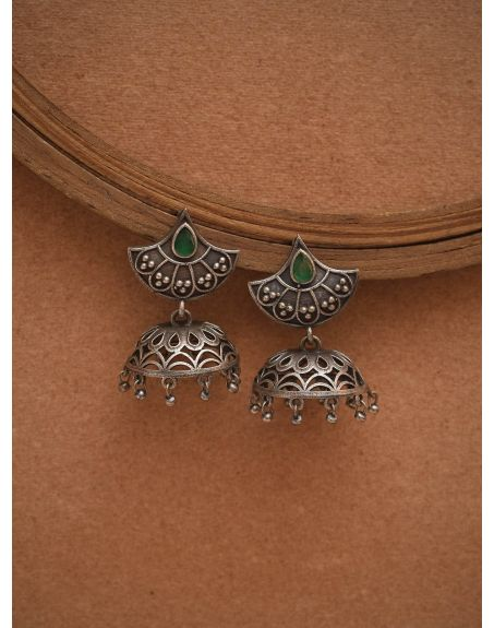 STUDIO B40 Silver Tone Brass Earrings STB40-3775