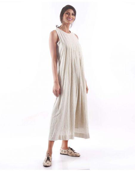 3X9T Sustainable Kala Cotton Stripe Dress