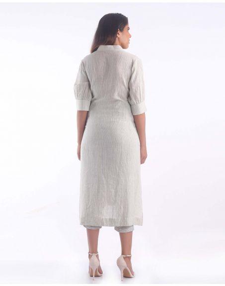 3X9T Sustainable Kala Cotton Indian Fashion Kurta