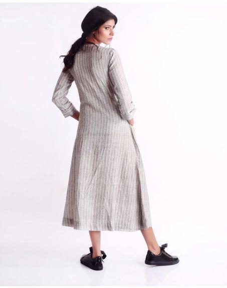 3X9T Sustainable Kala Cotton White Dress