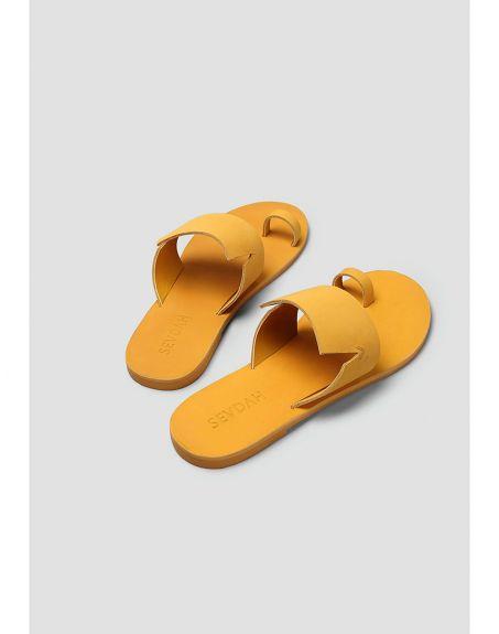 SEVDAH Nico Mustard Sandal