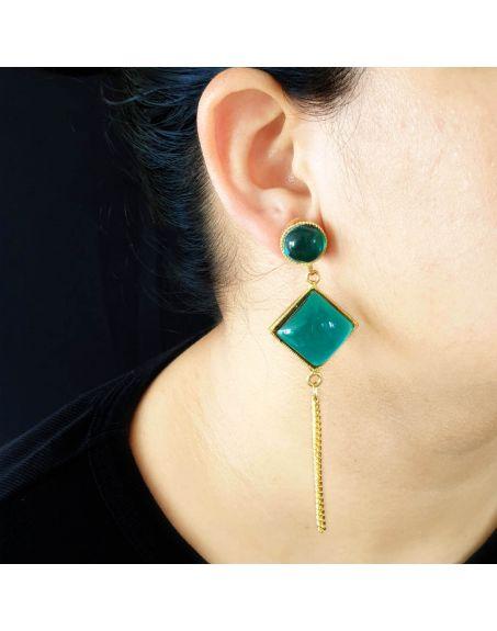 JAIPRI Stone Earrings