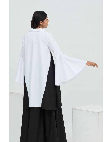 AAKAAR Cross Edge Shirt