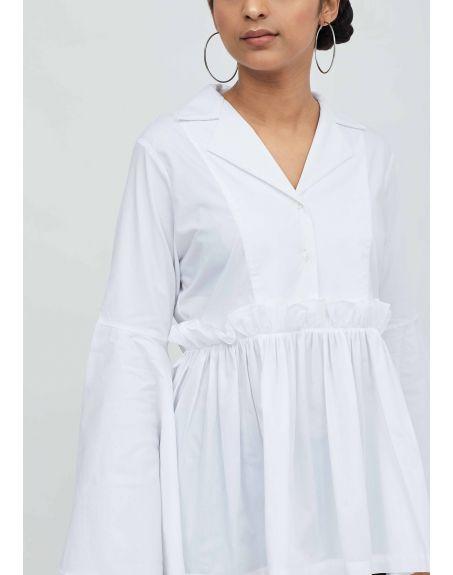 AAKAAR Paper Waist Shirt