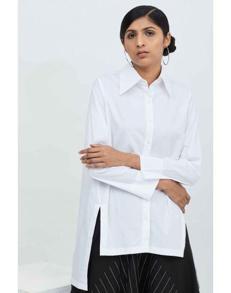 AAKAAR High Slit Shirt