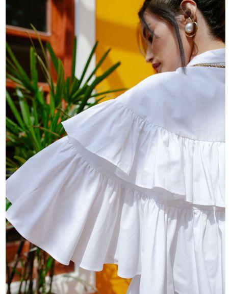 HOUSE OF FETT Beluga White Dress